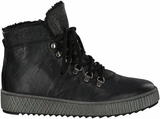 Gisy: Gabor Winter Boots aus Leder 692700 (Schwarz) online