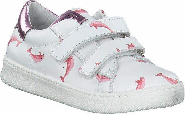Gisy: Clic Shoes Klett Halbschuhe für Kinder 809202 (Weiß