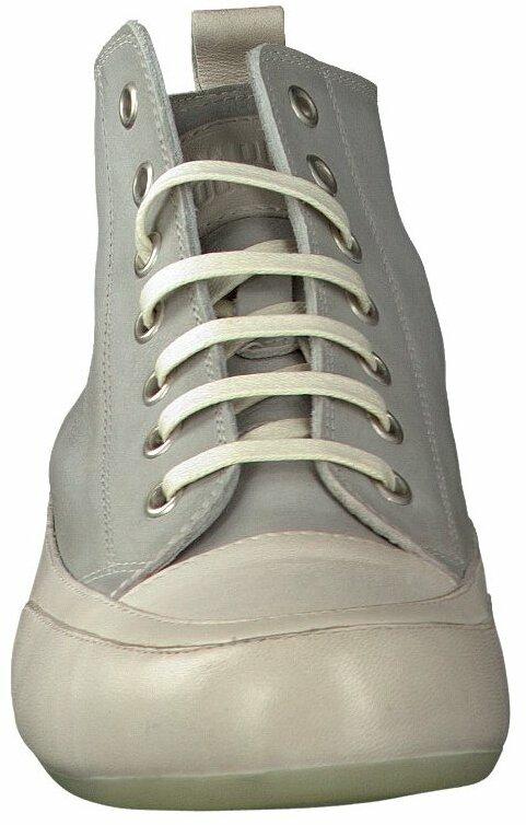 Candice Cooper Knöchelhohe Leder Sneaker in Hellgrau Boots