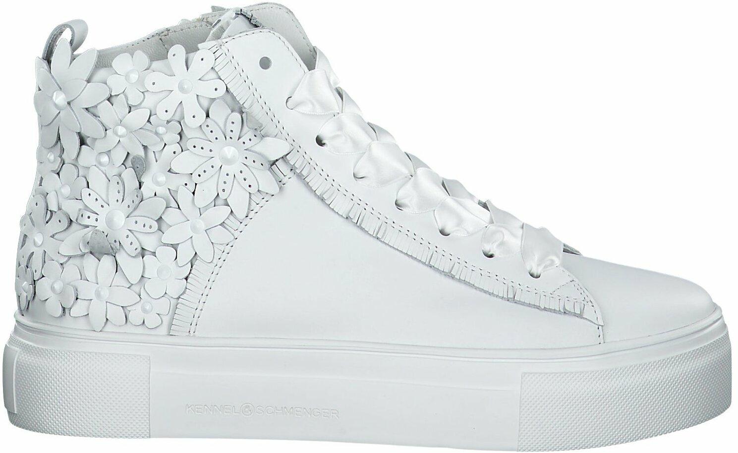 high top sneaker weiß damen