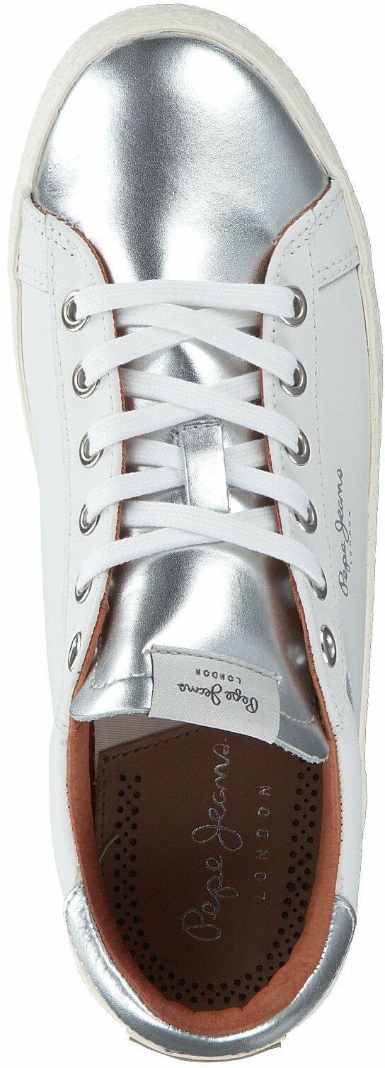 Gisy: Pepe Jeans Damen Sneaker 710015 (Weiß) online shoppen