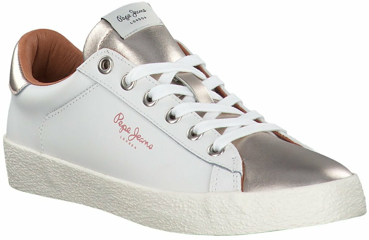 Gisy: Pepe Jeans Damen Sneaker 710027 (Weiß) online shoppen
