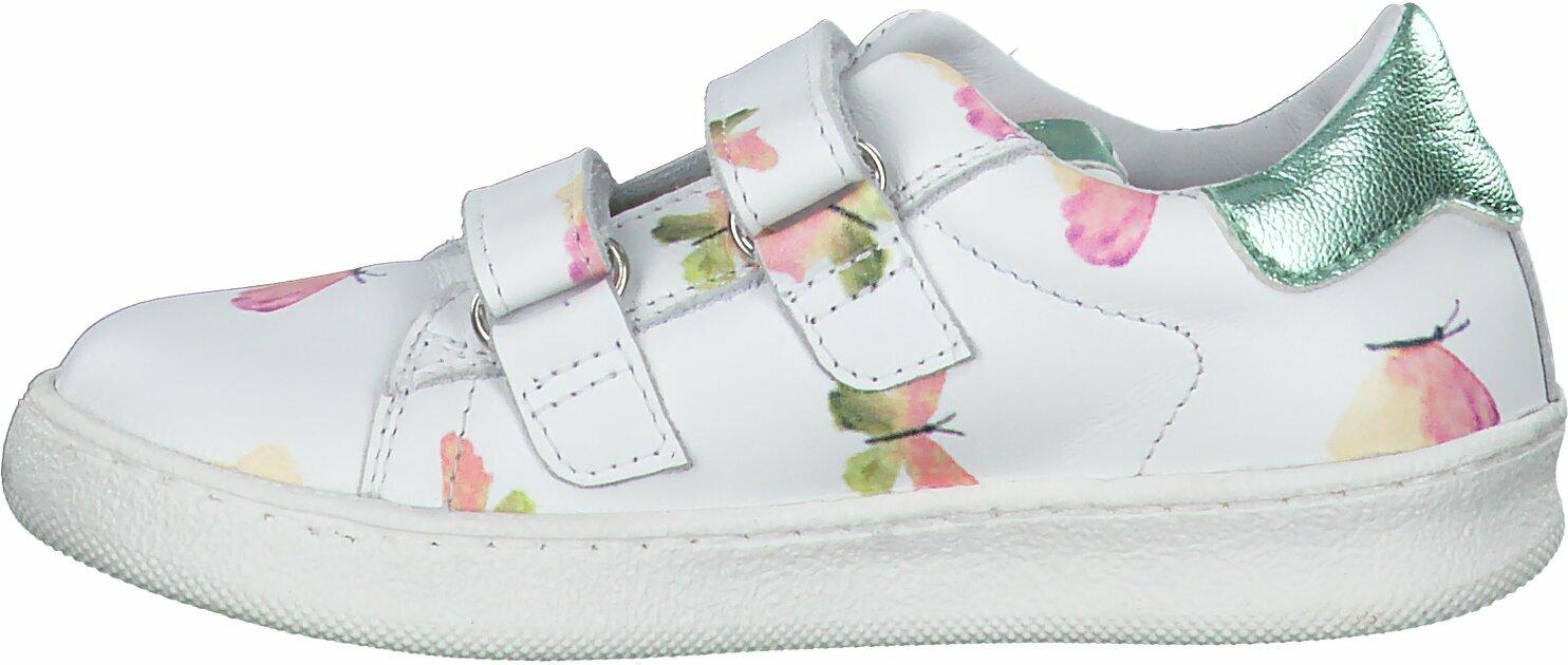 Gisy: Clic Shoes Klett Halbschuhe für Kinder 809214 (Weiß