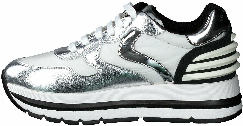 Gisy: Voile Blanche Plateau Sneaker für Damen 659034 (Silber