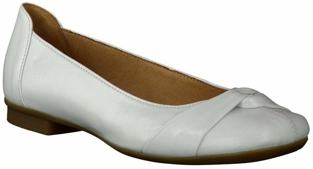 Gabor Ballerinas für Damen in Weiß Ballerinas für Damen